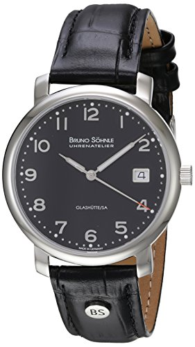 Bruno Söhnle Herren-Armbanduhr Momento Analog Quarz Leder 17-13016-723