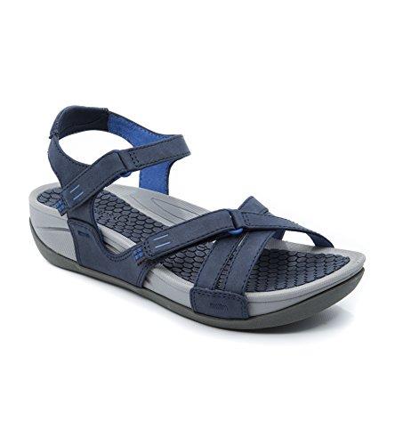BareTraps Danny Women's Sandals & Flip Flops Navy Size 8.5 M (BT23817)