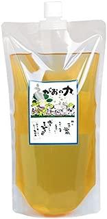 植物油由来成分からできた濃縮自然派洗剤「えがおの力(旧松の力)」1L