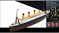 1/1000 R.M.S. TITANIC MCP (Multi Color parts) #14217 ACADEMY MODEL KITS