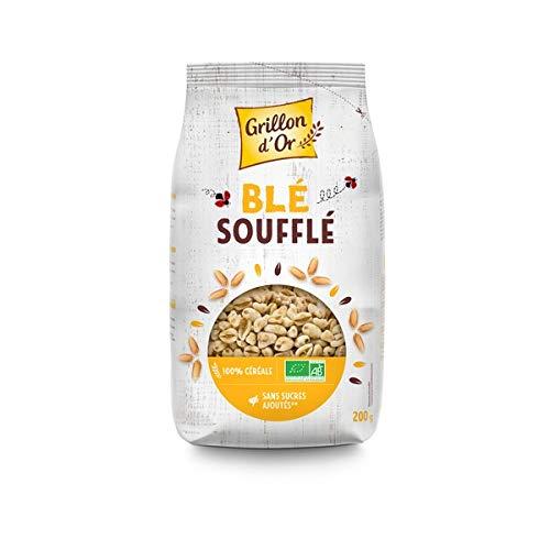 GRILLON D'OR - Céréales Blé Complet Soufflé 200G - Lot De 4