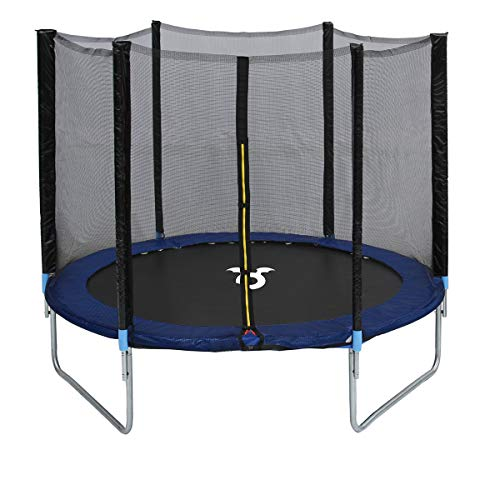 Charles Bentley Monster Children's 10ft Trampoline with Safety Net Enclosure