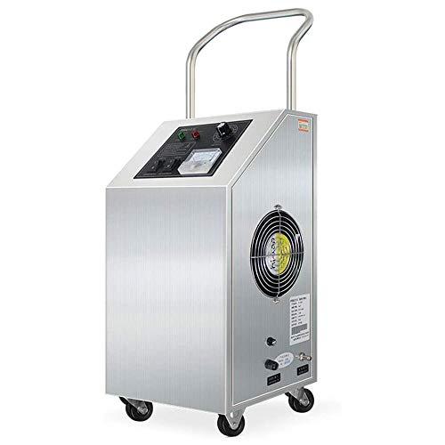 Ozon generator luchtreiniger, 5g / h mobiele ozon machine formaldehyde verwijdering luchtreiniger thuiskantoor voedsel fabriek medische werkplaats sterilisatie ozon desinfectie machine