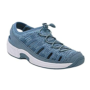 Orthofeet Proven Bunions Plantar Fasciitis Relief Extended Widths Orthopedic Diabetic Women s Closed Toe Sandals Laguna