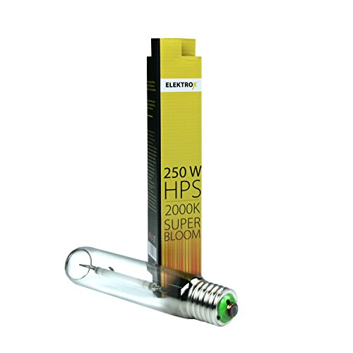 Elektrox 250W Natriumdampflampe NDL HPS Super Bloom