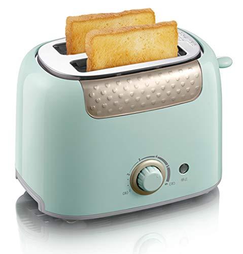 Huishoudelijke Elektrische Oven, 2-Slot Automatische Multifunctionele Hete Broodrooster Ontbijtmachine Kleine Broodrooster Druk Verwarmen Automatische Broodrooster Driver