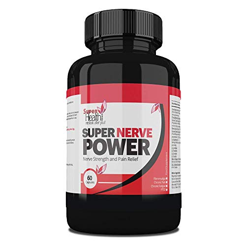 Sciatica Relief ** Super Nerve Power ** Nerve Pain | Chronic Pain Syndrome - Natural Fibromyalgia Supplement