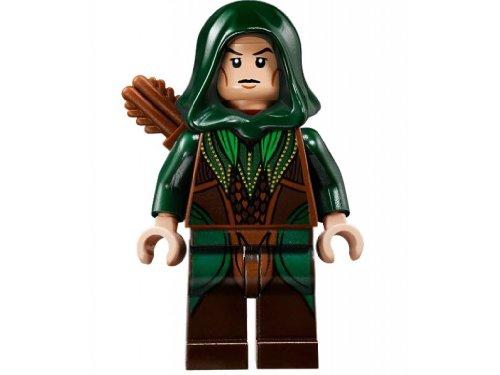 Lego Der Hobbit Elb als Bogenschütze mit Bogen und Köcher