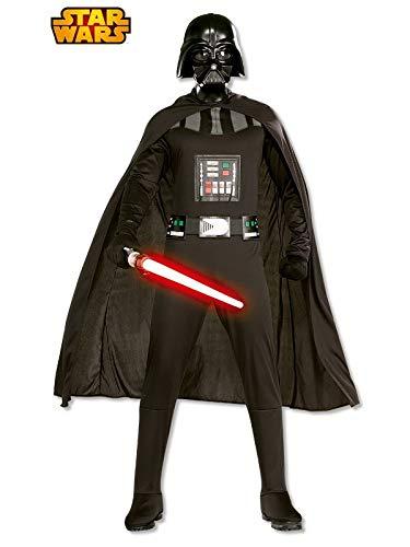 DISBACANAL Disfraz de Darth Vader Adulto con Espada - -, M