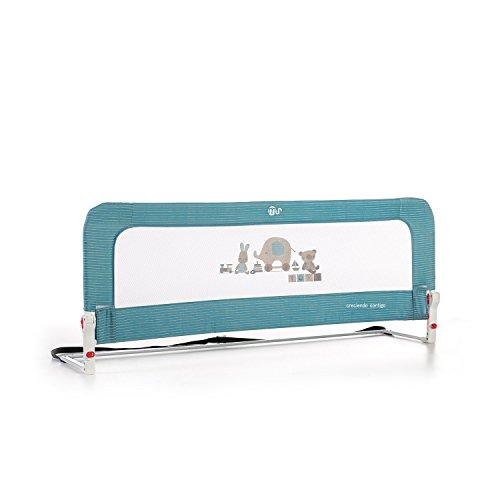 ms Innovaciones Nido 3014- Barrera para cama de 2 alturas Abatible, 50 x 30 x 150 cm, Azul