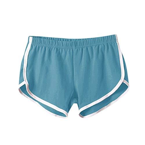 KUDICO Womens Casual Sólido Verano Fitness Deportes Entrenamiento Yoga Pantalones Cortos Cortos Cortos Cortos de Danza Animadoras Voleibol Pantalones Cortos