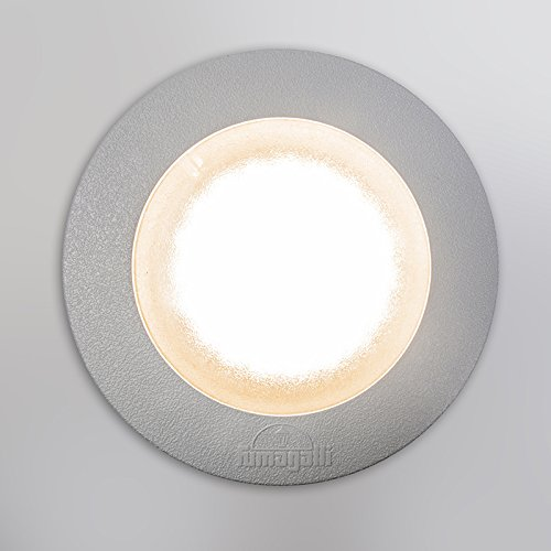 Qazqa Spot extérieur   Spot de Jardin Moderne - Ceci Lampe Gris - GX53 - LED incluse - 1 x 3 Watt