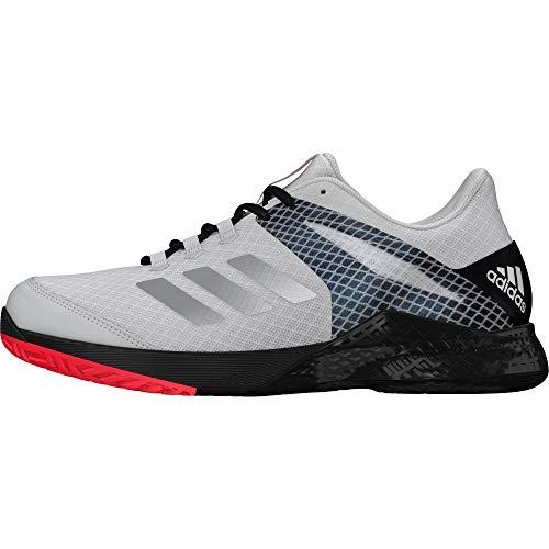 adidas Adizero Club 2.0, Scarpe da Tennis Unisex-Adulto, Bianco (Ftwwht/Msilve/Cblack Ftwwht/Msilve/Cblack), 46 EU