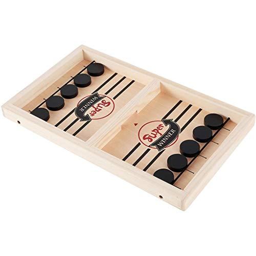 ZYuan Brettspiel Hockey Fast Sling Puck Board Game Tischplatte Rapid-Shot Interaktives Brettspiel für Familie für Erwachsene Elternkind Spielzeug Board Tisch Spiel