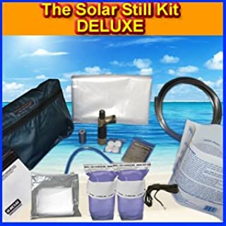 Survival Metrics The Solar Still Deluxe Water Purification Kit