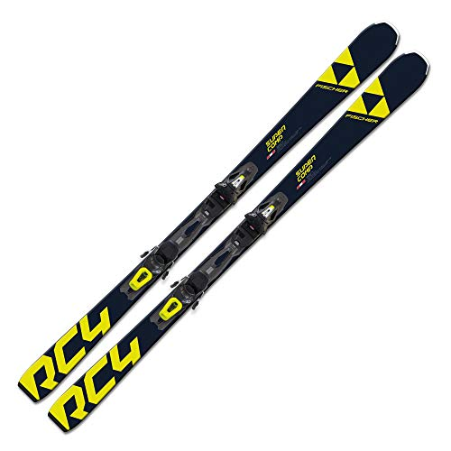 FISCHER Ski RC4 Super Comp PT 150cm On-Piste Rocker Modell 2021 + Bindung RS10 Powerrail
