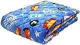 モリシタ(Morisita) Disney(ディズニー) あったか 敷パッド シングル (カーズ) ライトニング マックィーン ルイジ グイド ブルー(カーズ) (約)幅102.5×奥行203.5×高さ0.5cm