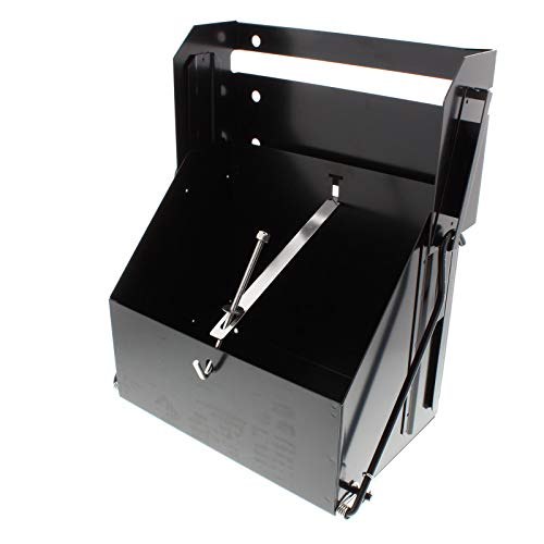 Drop-Out/Dropout Battery Box, Black Powder Coated Steel