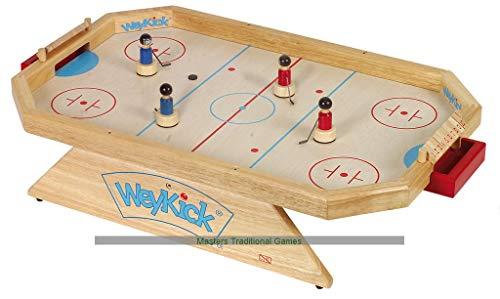 Weykick Eishockey-Stadion – Holzspielzeug für Kinder, hochwertiges Magnetspiel