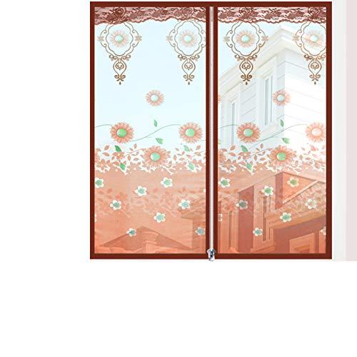 Zanzariera per finestra in rete anti-zanzare, in poliestere fai da te, con chiusura lampo per finestra, adatto per qualsiasi dimensione di finestra, 120 x 180 cm