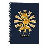 Garfield Retro Japanese Spiral Notebook