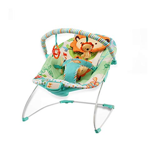 XL- Infant-to-Toddler Bouncers & Rockers Sleeper, Take-Along Songs Multifunction Baby Electric Recliner Shaker