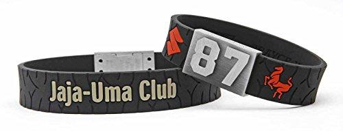 BRAYCE® Suzuki Armband mit Deiner Nummer 00-99 I für Motorrad Fahrer & Biker aus dem Suzuki Jaja Uma Club personalisierbar & handgemacht