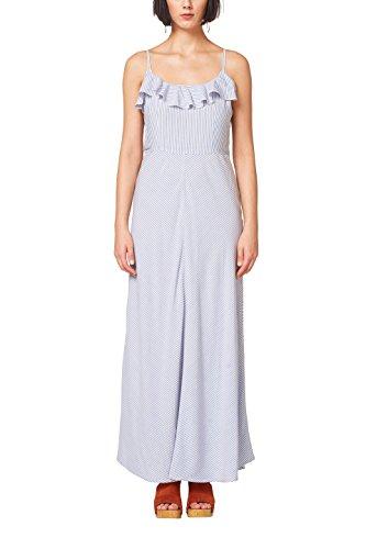 ESPRIT Damen 058EE1E017 Kleid, Mehrfarbig (Light Blue 440), 38