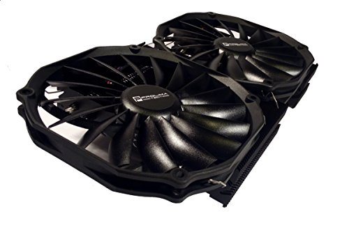 Prolimatech Black MK-26 VGA Cooler and Dual Ultra Sleek Vortex 14 PWM Fan Bundle