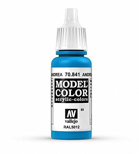 Vallejo Model Color Pintura Acrílica, Azul (Andrea Blue), 17 ml