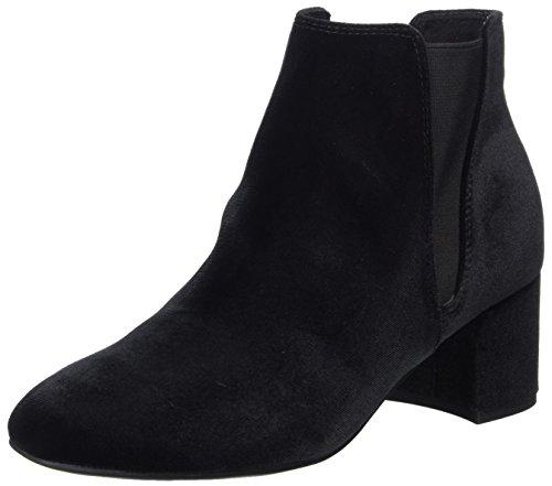 MARCO TOZZI Damen 25052 Chelsea Boots, Schwarz (Black Velvet), 39 EU