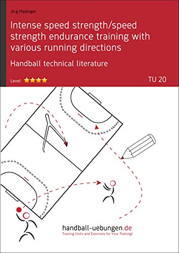 Intense speed strength/speed strength endurance training with various running directions (TU 20): Handball technical literature (Training unit) (English Edition)