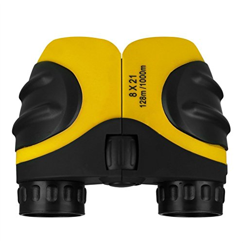 Why Choose SHIJIAN 8 X 21 Kids Outdoor Compact Binoculars, Pocket Size and Lightweight, Easy to Use for Bird Watching, Hunting, Travel, Concerts, Stargazing, Football Games (Color : Yellow)