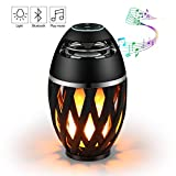 Mindmaker Torch Atmosphere Bluetooth LED Lamp Wireless Outdoor Portable Stereo Speaker with HD