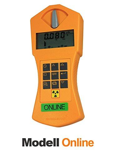 Gamma-Scout ® ONLINE Geigerzähler Strahlungsmessgerät