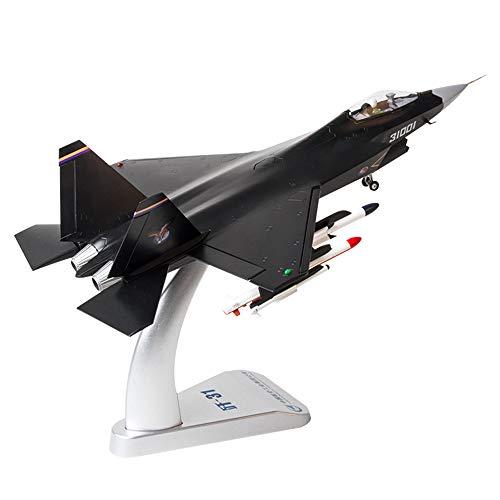 LTOOTA 1:48 Escala Fuerza Aérea China Modelo Escala Aviones Combate J