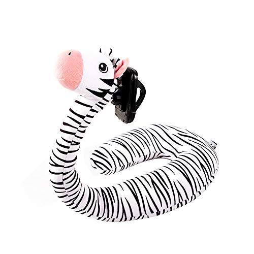 2 in 1 nek kussen, U-vormige zacht en comfortabel kussen, schattig cartoon dier mobiele telefoon houder, voor familie, reizen, kantoor