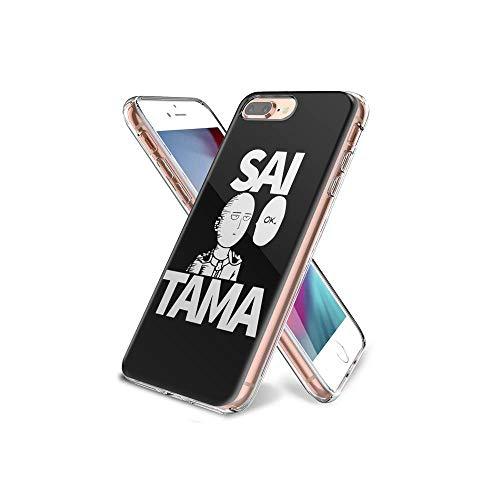 CHblINsUo Conciliable con iPhone 7 Plus Funda, iPhone 8 Plus Funda, de Silicona Suave a Prueba de Golpes Transparente TPU Protector de diseño de la Funda para iPhone 7 Plus/iPhone 8 Plus #UoC007