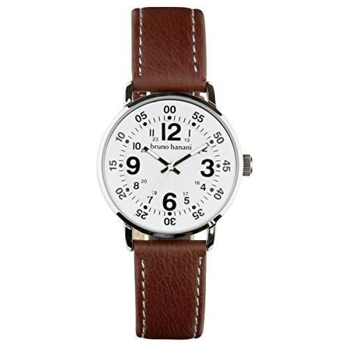 Bruno Banani Uhr Armbanduhr Moros Leder Analog BR30011