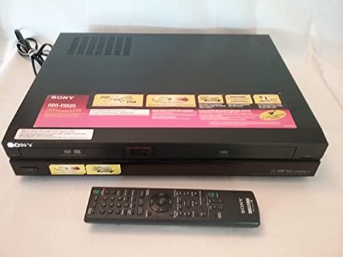 Sony RDR-VX525 DVD/VHS Player/Recorder (Renewed)