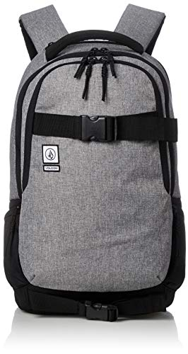 [ボルコム] リュック 35L (大判雑誌収納サイズ) [ D6531648 / Vagabond Bag ] 大容量 バックパック バッグ BKG_ブラック・グレー One Size