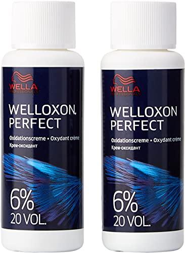 Wella Welloxon Oxidantionscreme 6 prozent 60 ml, 2er Pack (2 x 0,06 L)