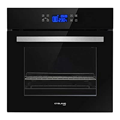"""GASLAND Chef 24"""" 2.3Cu.f Multi-functional Built-in Tempered Glass Electric Single Wall Oven, 24-Inch 240V 3200W 11 Cooking Function Electric Oven with Digital Touch Control and 3-Layer Glass Window"""