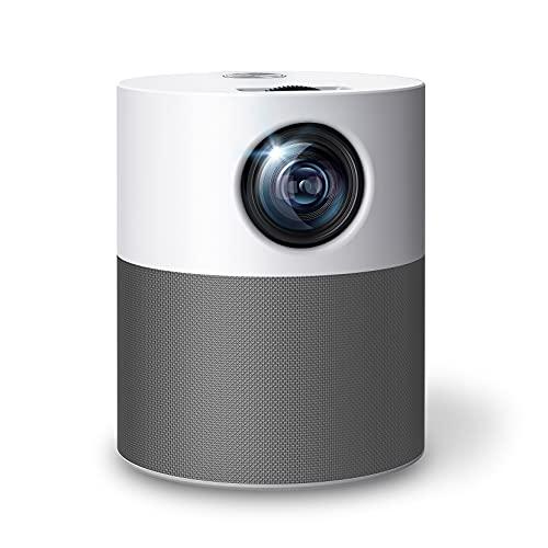 Mini proiettore Native 1080P Full HD VicTsing Proiettore Bluetooth WiFi,6000 L proiettore Full HD Mini proiettore proiettore 240'' Altoparlante integrato Soundbox compatibile con HDMI/USB/TF/AV/Audio