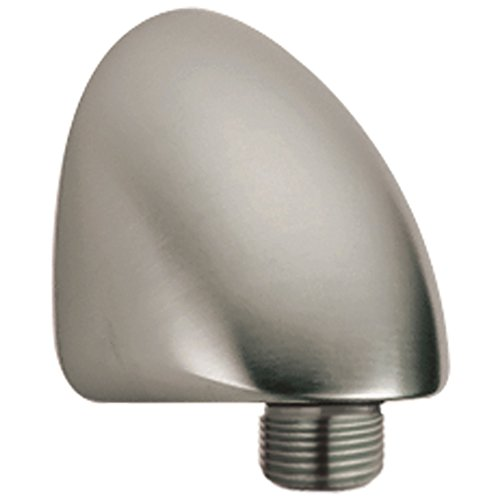Delta Faucet Wall-Mount Supply Wall Elbow for Hand Held Shower with Hose, Stainless 50560-SS
