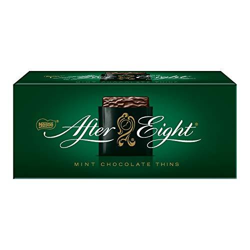 Nestlé AFTER EIGHT, hauchdünne Schoko-Täfelchen mit Pfefferminz-Cremefüllung, raffiniertes Schokoladen-Geschenk für Genießer, Menge: 1er Pack (1 x 200 g)