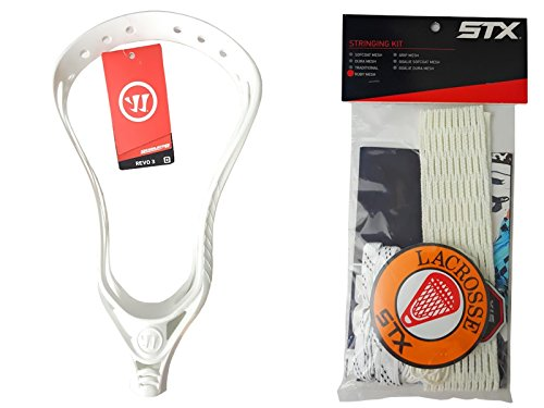 Warrior Revo 3X Unstrung Lacrosse Head