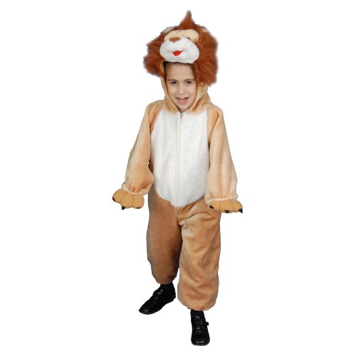 Dress Up America Ensemble de Costume de Lion en peluche de luxe pour enfants
