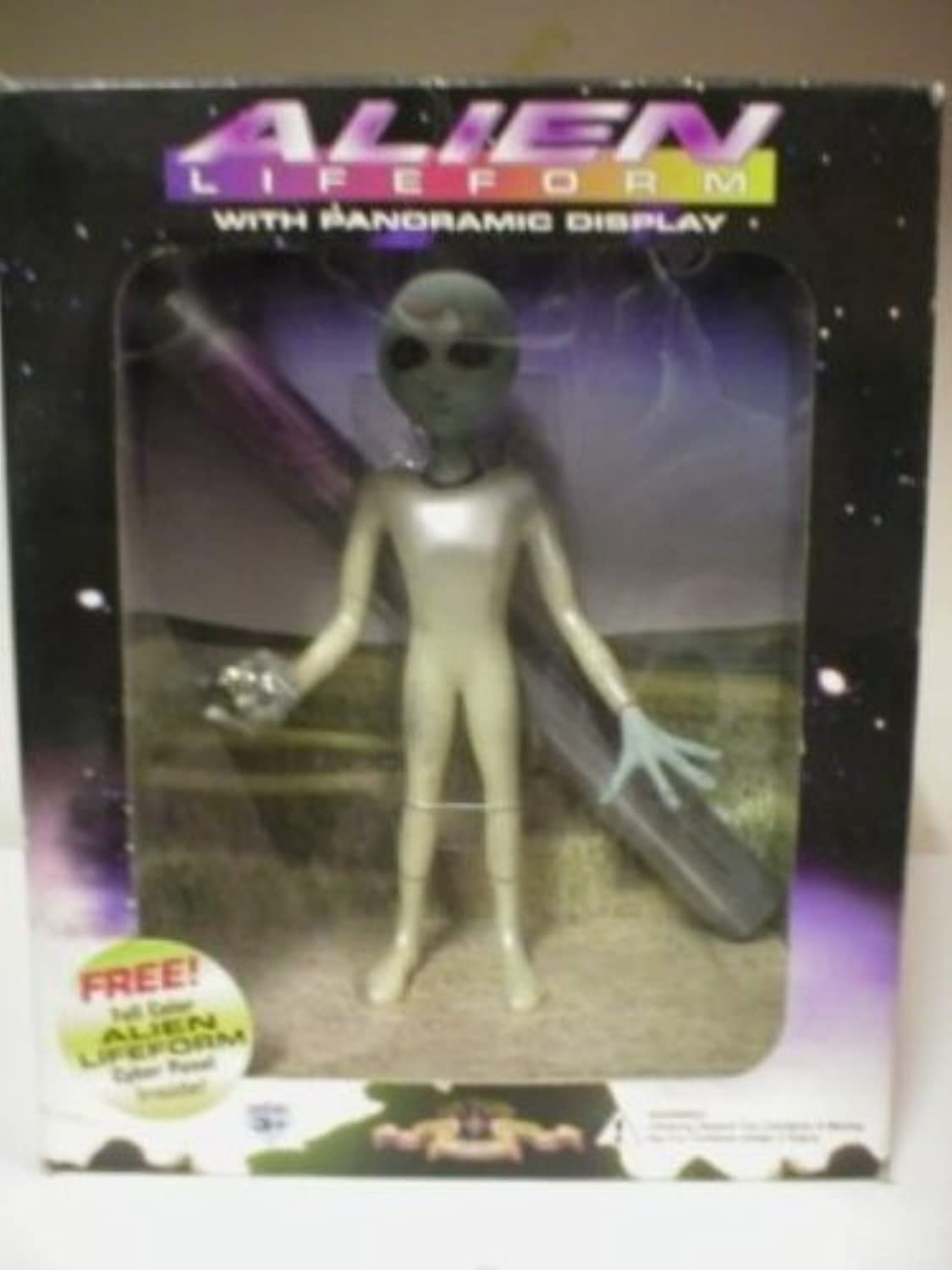 Alien Lifeform with Panoramic Display by Alien Lifeform with Panoramic Display