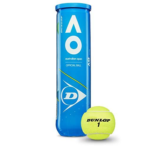 DUNLOP Australian Open Balles de Tennis Jaune...